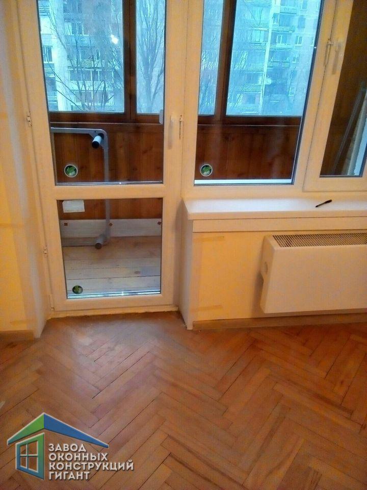 Пластиковые и алюминиевые окна - фото работ после установки.